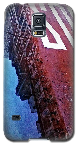 Galaxy S5 Case featuring the photograph Reflecting On City Life by James Aiken
