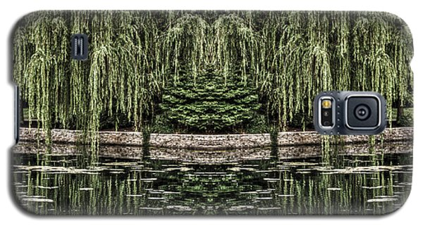 Reflecting Willows Galaxy S5 Case by Rebecca Hiatt