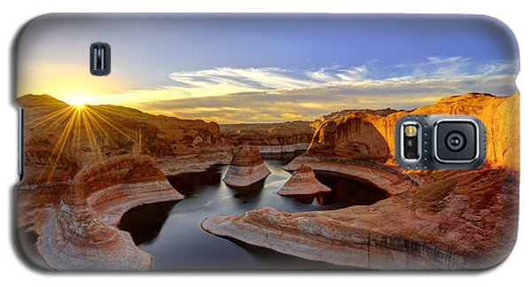 Reflection Canyon Sunrise Galaxy S5 Case