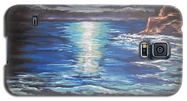 Galaxy S5 Case featuring the painting Reflection by Cheryl Pettigrew