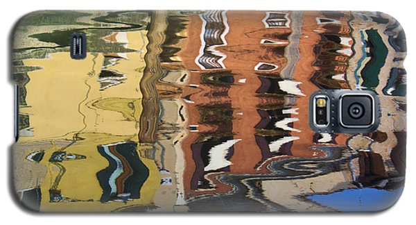 Reflection In A Venician Canal Galaxy S5 Case by Ron Harpham