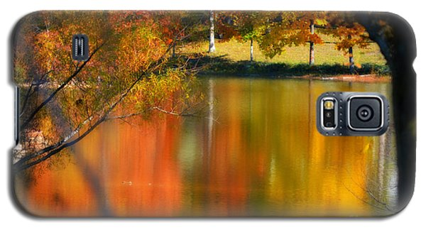 Reflection  Of My Thoughts  Autumn  Reflections Galaxy S5 Case