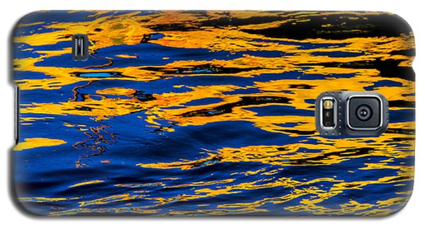 Galaxy S5 Case featuring the photograph Reflection On Salish Sea by Craig Perry-Ollila