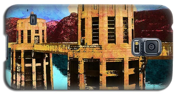 Reflections At Hoover Dam Galaxy S5 Case