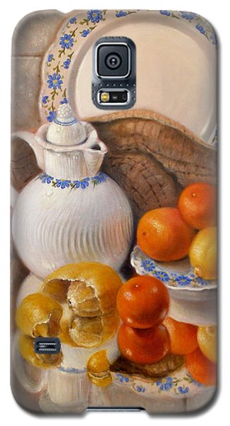 Galaxy S5 Case featuring the painting Reflections by Donelli  DiMaria