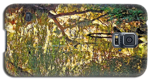 Reflections In Bayou Robert Galaxy S5 Case by Louis Nugent