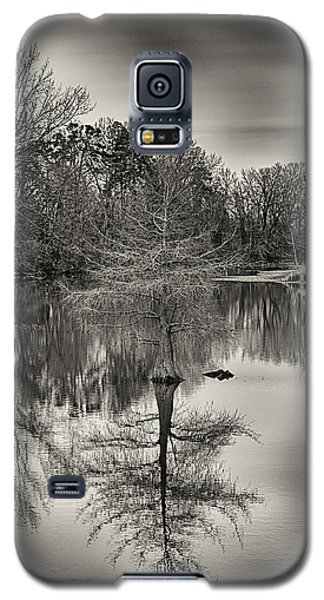 Reflections In Black And White Galaxy S5 Case