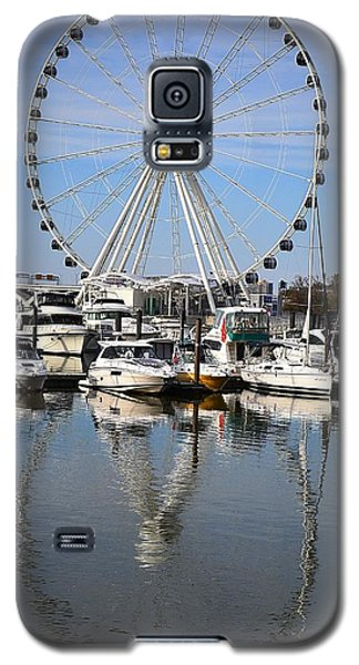 Galaxy S5 Case featuring the photograph Reflections by Mary Zeman