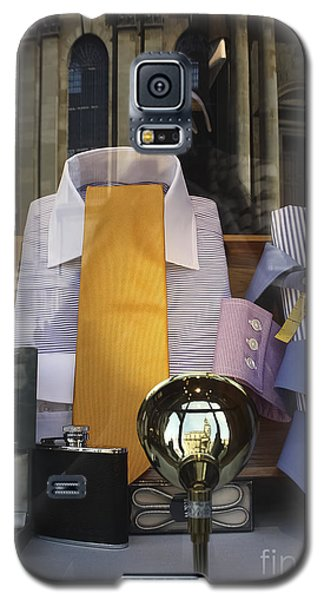 Galaxy S5 Case featuring the photograph Reflections Of A Gentleman's Tailor by Terri Waters