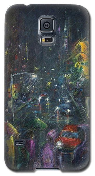 Reflections Of A Rainy Night Galaxy S5 Case