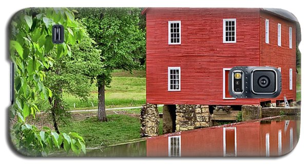 Reflections Of A Retired Grist Mill - Square Galaxy S5 Case