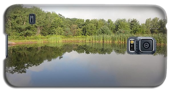 Galaxy S5 Case featuring the photograph Reflections Of A Still Pond by Michael Porchik