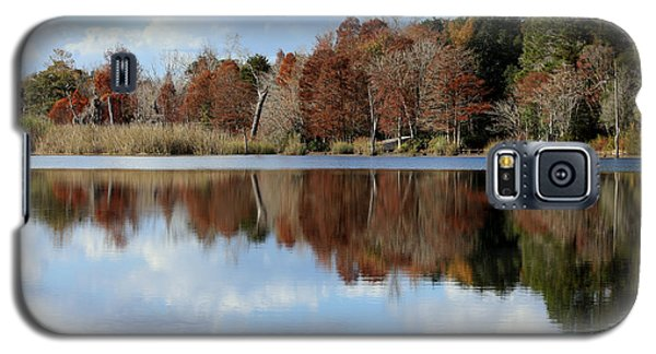 Galaxy S5 Case featuring the photograph Reflections Of Color by Debra Forand