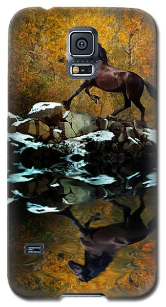 Reflections Of Fall Galaxy S5 Case
