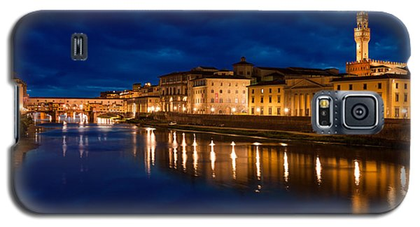 Reflections Of Florence Galaxy S5 Case by Gurgen Bakhshetsyan