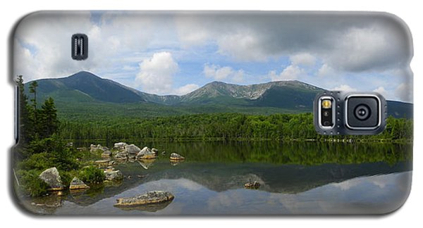 Reflections Of Katahdin At Sandy Stream Pond Galaxy S5 Case