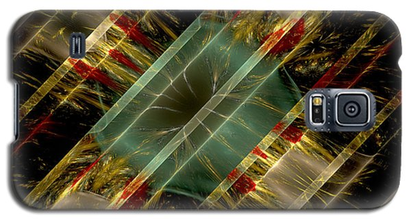 Galaxy S5 Case featuring the digital art Reflections Of Life by Melissa Messick
