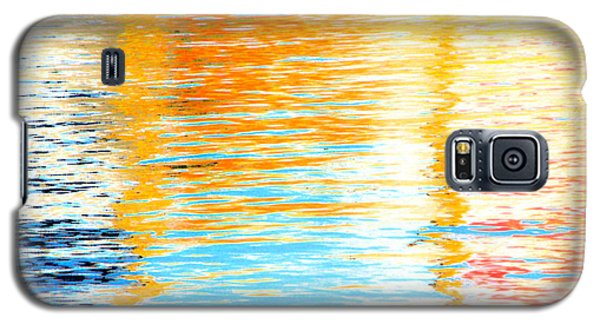 Reflections Of The Setting Sun Galaxy S5 Case by Roselynne Broussard