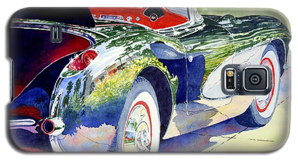 Reflections On A Corvette Galaxy S5 Case by Roger Rockefeller