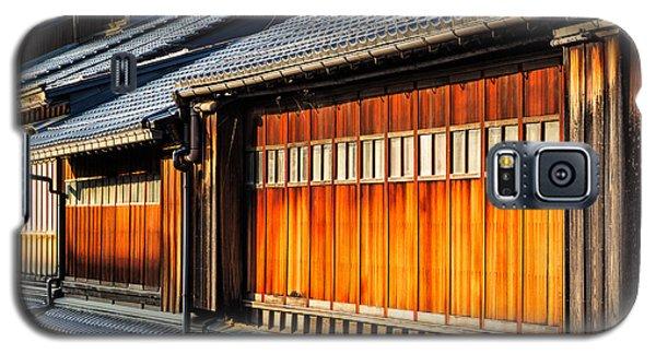 Reflections On Geisha Houses - Kanazawa City - Japan Galaxy S5 Case