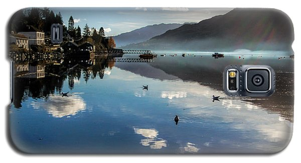 Reflections On Loch Goil Scotland Galaxy S5 Case