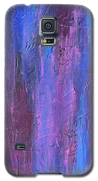 Galaxy S5 Case featuring the painting Reflections by Roz Abellera Art