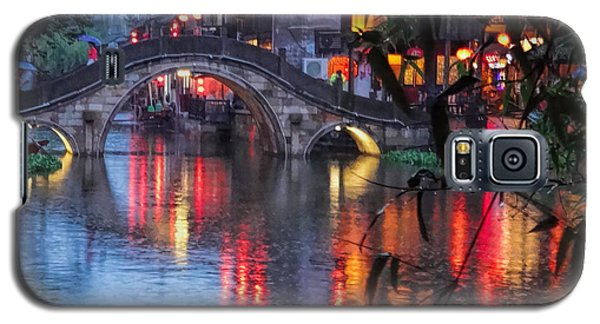 Reflections Xitang Evening Galaxy S5 Case by Robert Knight