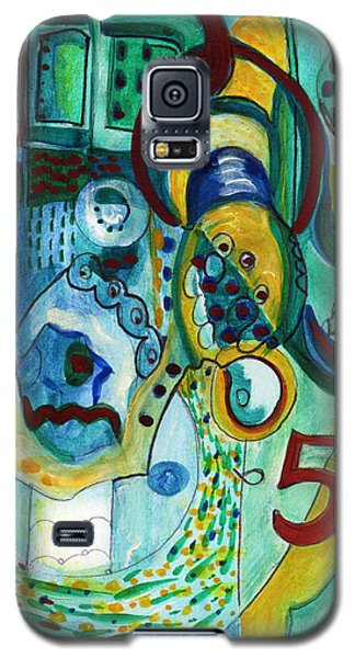 Reflective #5 Galaxy S5 Case