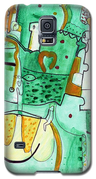 Reflective #8 Galaxy S5 Case