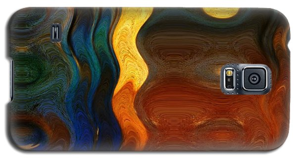 Reflective Abstracts Galaxy S5 Case
