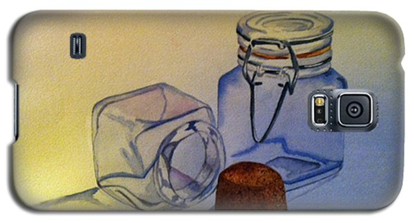 Reflective Still Life Jars Galaxy S5 Case