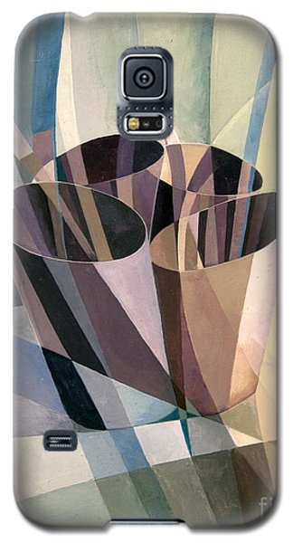 Galaxy S5 Case featuring the painting Refraction Study by Bob  George