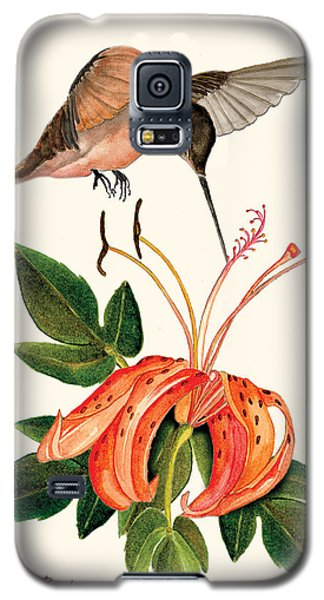 Galaxy S5 Case featuring the painting Refueling In Flight by Anne Beverley-Stamps