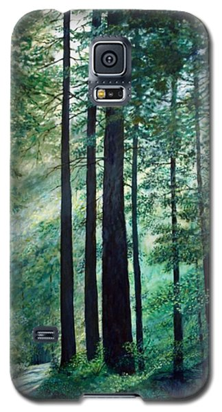 Galaxy S5 Case featuring the painting Refuge by Kathleen McDermott