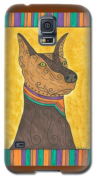 Regal Doberman Galaxy S5 Case by Susie Weber