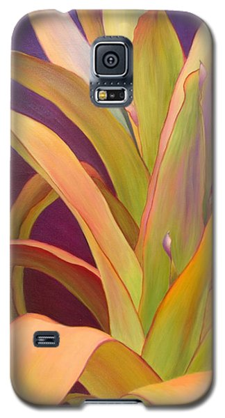 Galaxy S5 Case featuring the painting Regalia by Sandi Whetzel