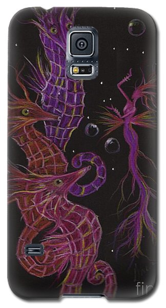 Galaxy S5 Case featuring the drawing Rehearsal by Dawn Fairies