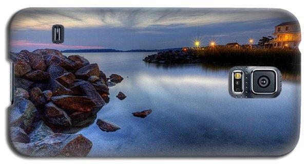 Rehoboth Bay Sunset At Dewey Beach Galaxy S5 Case