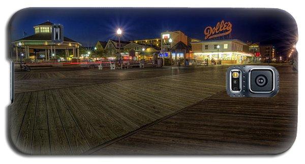 Rehoboth Beach Boardwalk At Night Galaxy S5 Case