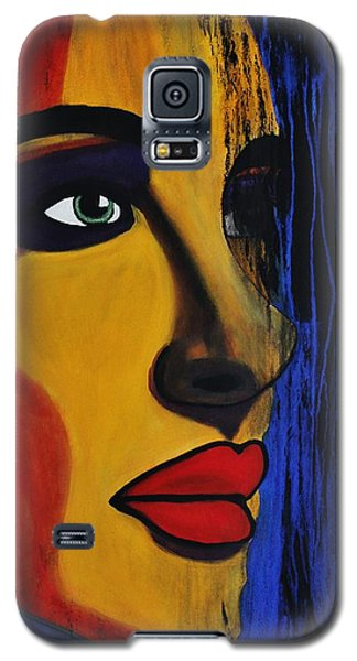 Galaxy S5 Case featuring the painting Reign Over Me 2 by Michael Cross