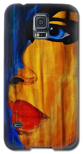 Galaxy S5 Case featuring the painting Reign Over Me 3 by Michael Cross