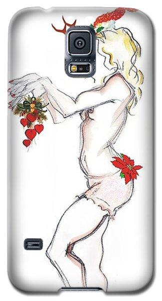 Reindeer Cupid - Joy To The World Galaxy S5 Case