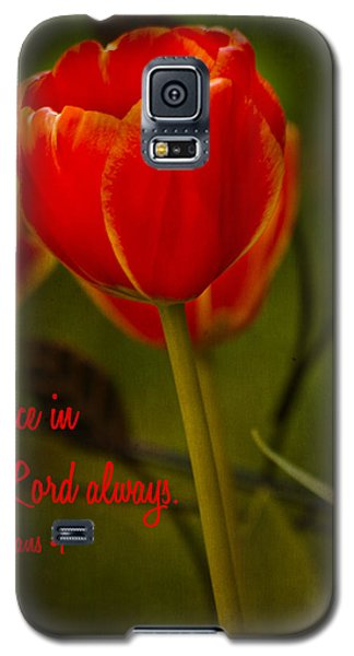Rejoice In The Lord Galaxy S5 Case by Bill Barber