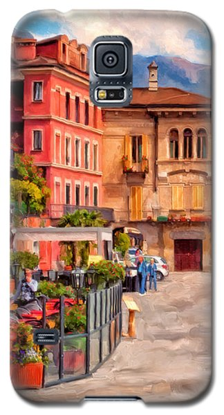 Relaxing In Baveno Galaxy S5 Case by Michael Pickett