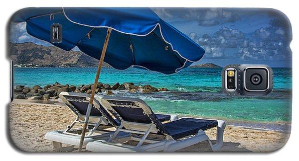 Relaxing In St Maarten Galaxy S5 Case