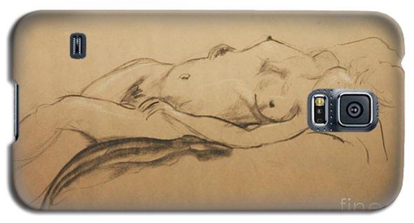Relaxing Nude Galaxy S5 Case by Gabrielle Schertz
