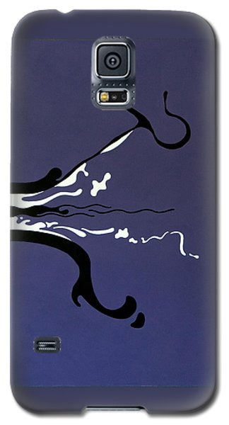 Galaxy S5 Case featuring the painting Release by Thomas Gronowski