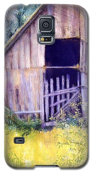 Galaxy S5 Case featuring the painting Relic by Mary Lynne Powers