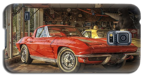 Relics Of History - Corvette - Elvis - Nehi Galaxy S5 Case
