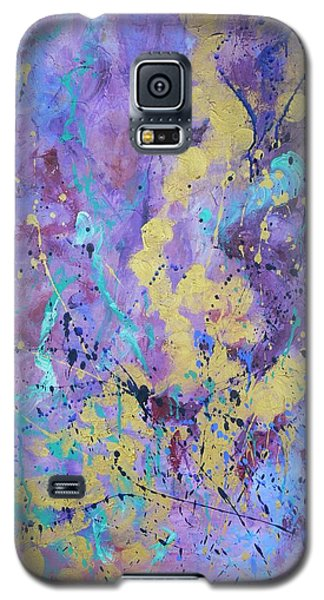 Galaxy S5 Case featuring the painting Reliving The Past by Catherine Hamill